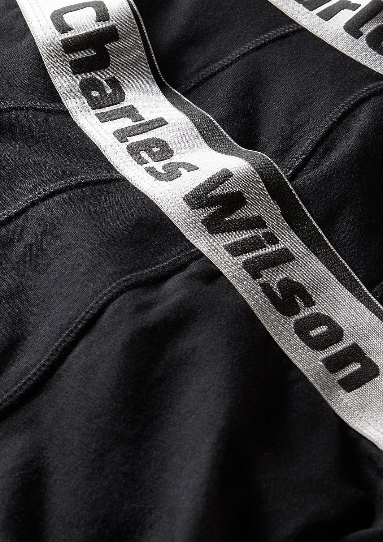 Charles Wilson Calzoncillo Bóxer de Hombre 4 Unidades (Negro, X-Large): Amazon.es: Ropa y accesorios