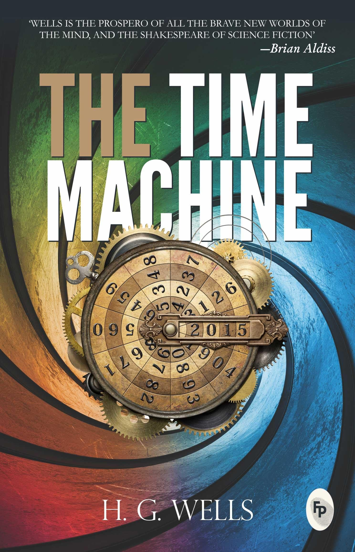 Image result for book cover the time machine
