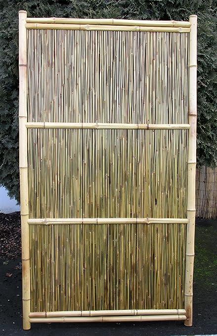 Bamboo Fence Panel, Horizontal Style