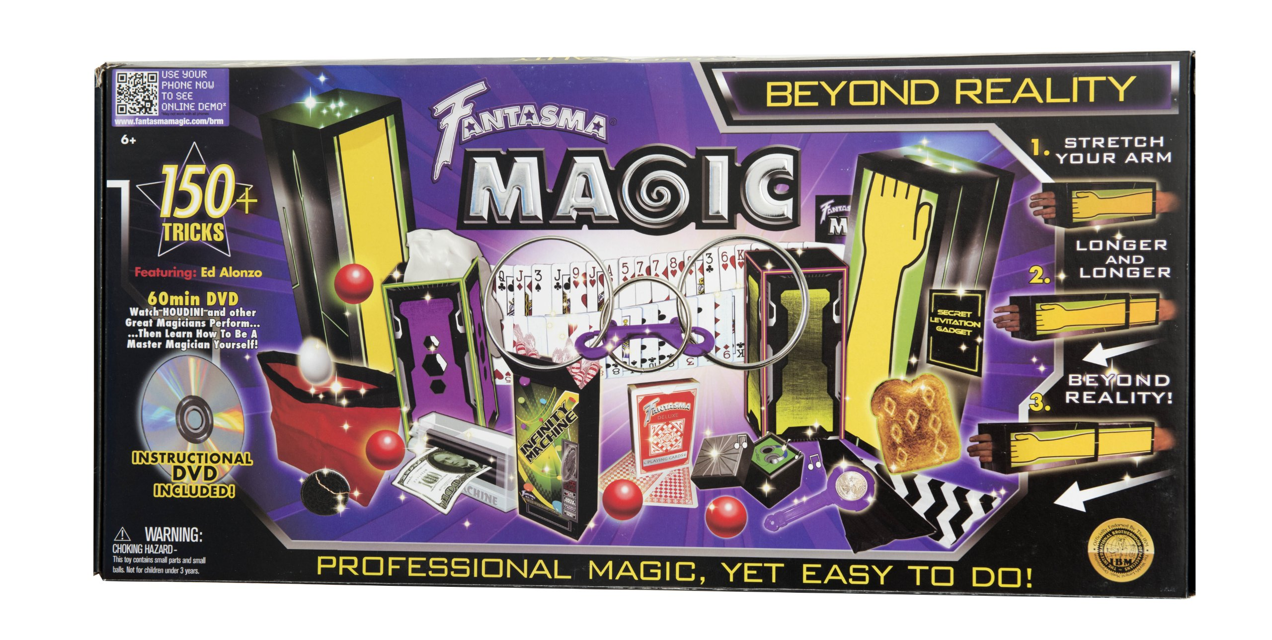 Fantasma Toys Beyond Reality Magic Set (150 Tricks) by Fantasma