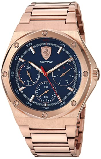 cf3a75f64e92 Ferrari Aspire - Reloj de Cuarzo para Hombre