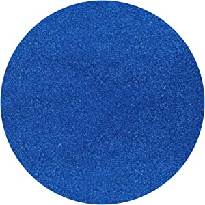 ACTIVA Decor Sand, 5-Pound, Dark Blue