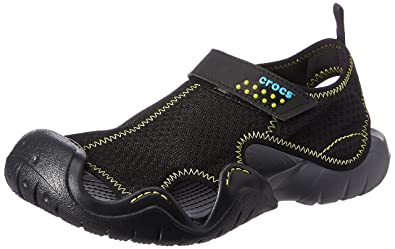 Charcoal Sandals Black Crocs Swiftwater And FloatersBuy Men's SzVpLGqMUj