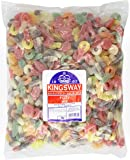 Kingsway Fizzy Mixed fruit flavoured gums 3 Kg