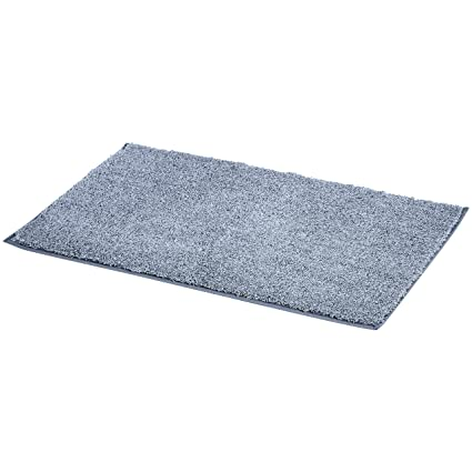Amazoncom Amazonbasics Plush Melange Sculpted Bath Mat Light