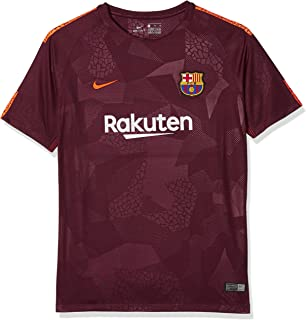 Nike Youth FC Barcelona Stadium Jersey [NIGHT MAROON]