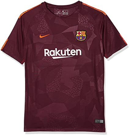 6d0f5cce6 Amazon.com : Nike Youth FC Barcelona Stadium Jersey [Night Maroon ...