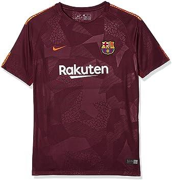 Nike FCB Y Nk BRT Stad JSY SS 3r Camiseta 3ª Equipación FC Barcelona 17-18, Unisex niños: Amazon.es: Deportes y aire libre