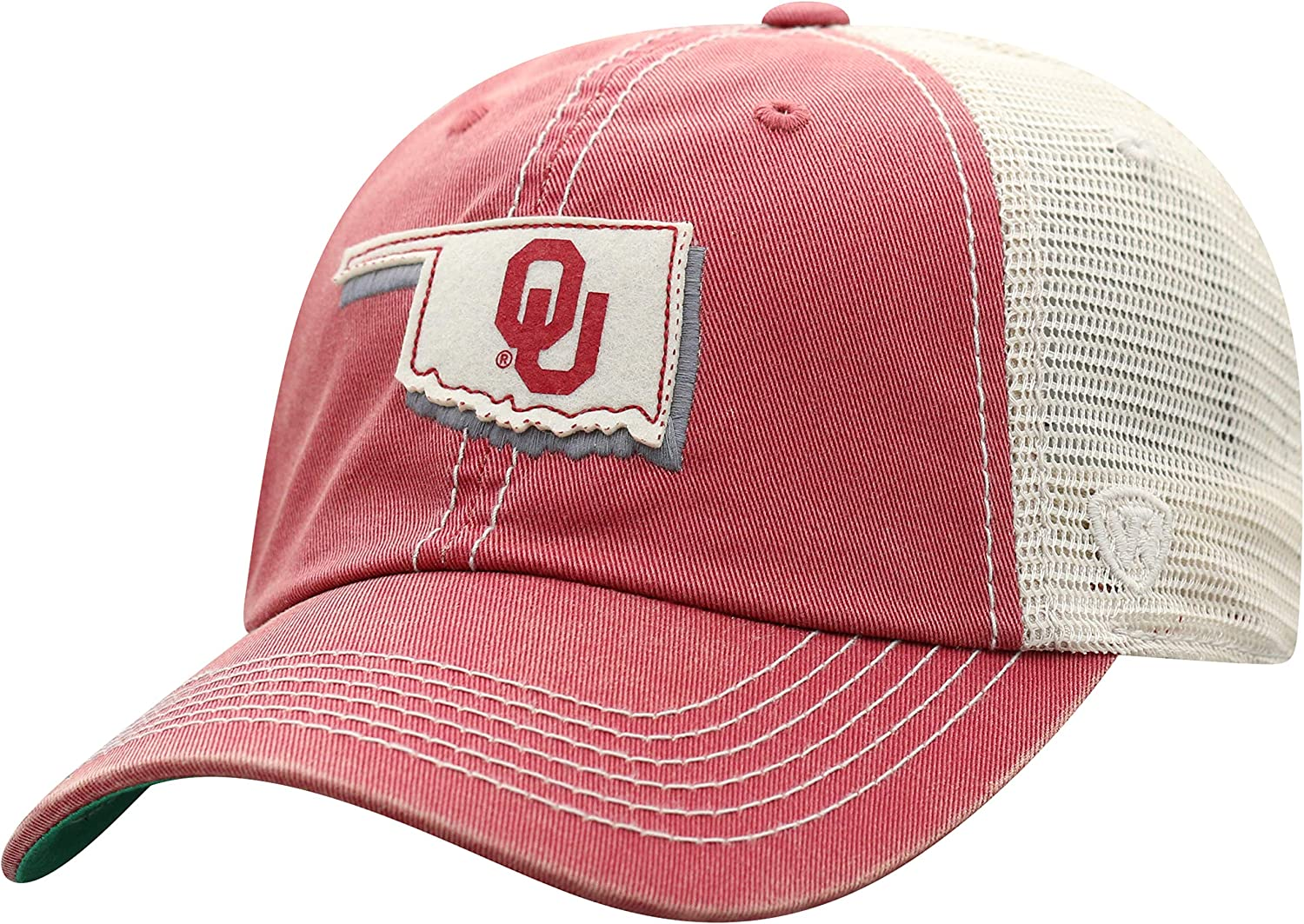 Top of the World NCAA Mens Hat Adjustable Off Road Mesh State Icon
