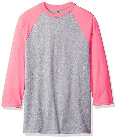 a4120d5e3de531 Amazon.com  Hanes Men s X-Temp Raglan Baseball Tee  Clothing