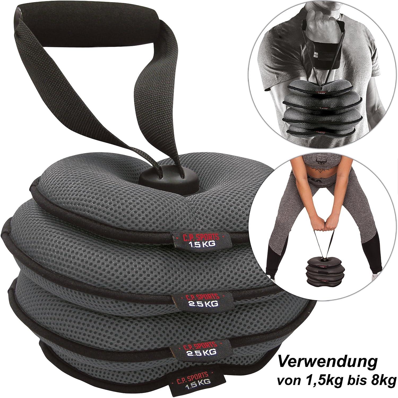 C.P. Sports Softkettlebell Fitnesszubehör, Grau, One Size CPSP7|#C.P. SPORTS K6-1