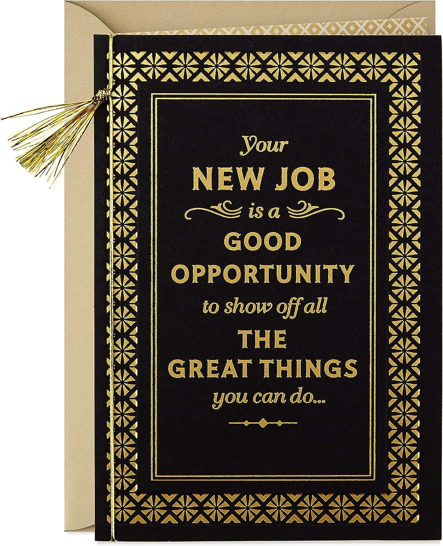 Hallmark Congratulations New Job Card (Great Things)
