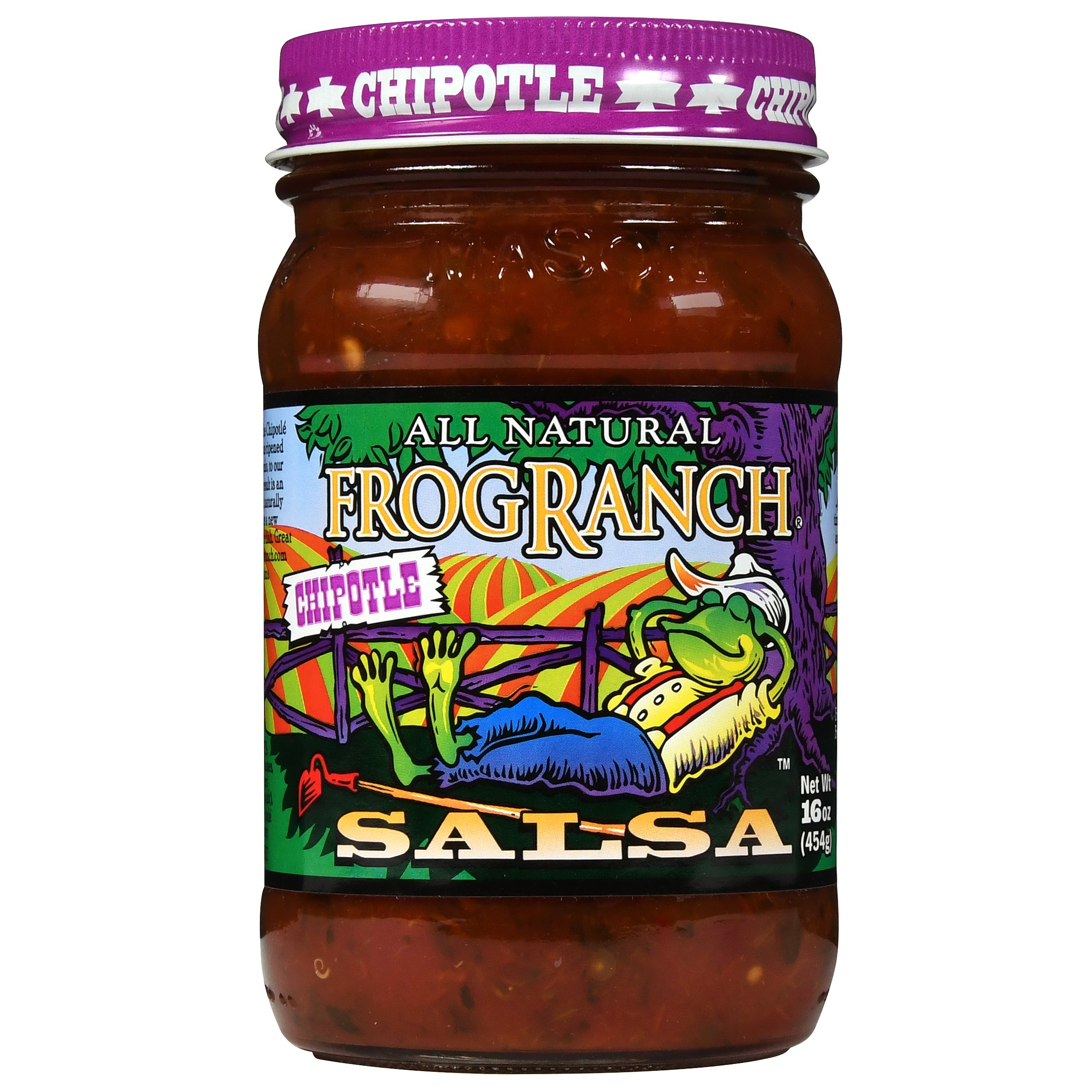 Frog Ranch Chipotle All Natural Salsa 16 oz. (Pack of 3) by Frog Ranch