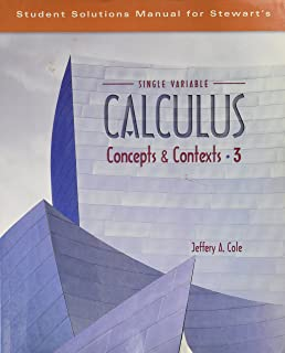 Calculus concepts and contexts james stewart 9780534410032 student solutions manual for stewarts single variable calculus concepts and contexts 3rd by james fandeluxe Gallery