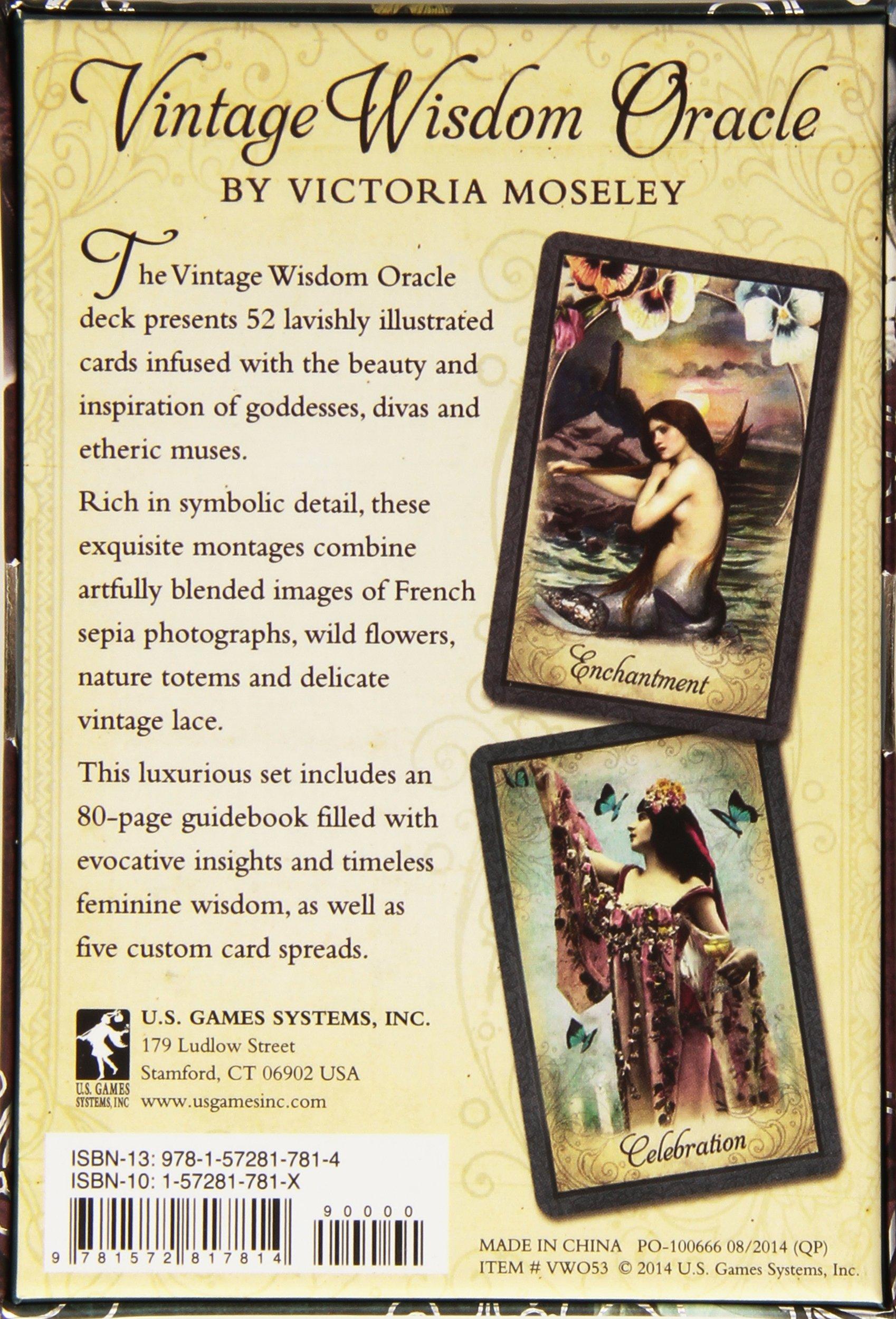 Vintage Wisdom Oracle: Victoria Moseley: 9781572817814