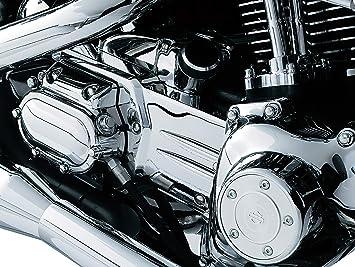Kuryakyn Oil Line Cover /& Transmission Shroud Chrome 8208