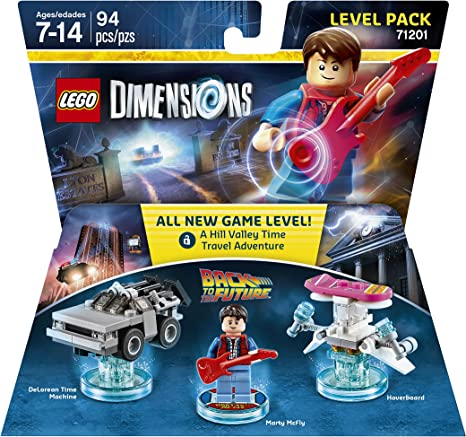 Back to the Future Level Pack - LEGO Dimensions by Warner Home ...