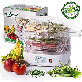 NutriChef PKFD06 Food Dehydrator Machine