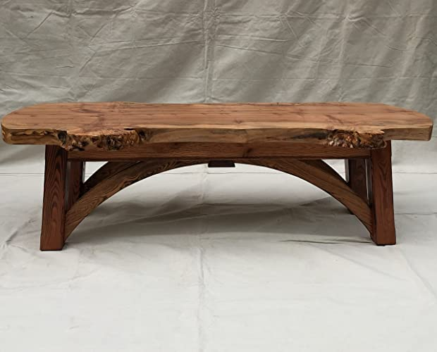 amazon com live edge solid wood coffee table handmade rh amazon com live edge wood coffee table uk live edge wood coffee table for sale