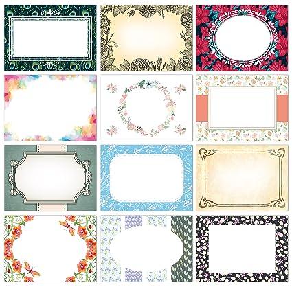 12 Tarjetas de cupones, de Sophies Kartenwelt, para diseños ...