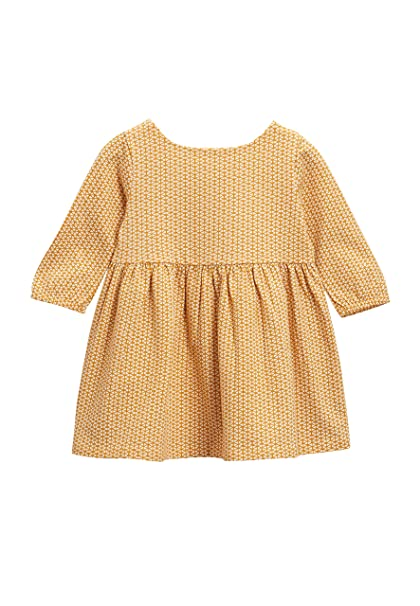next Bebé-Niñas Vestido De Punto (0 Meses - 2 Años) Ocre Geo
