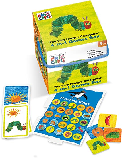 Paul Lamond 6165 The World of Eric Carle Juego de Mesa para niños ...