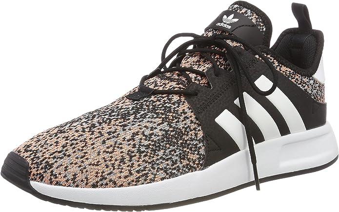 adidas X_PLR Sneakers Herren Grau/Bunt mit weißen Streifen