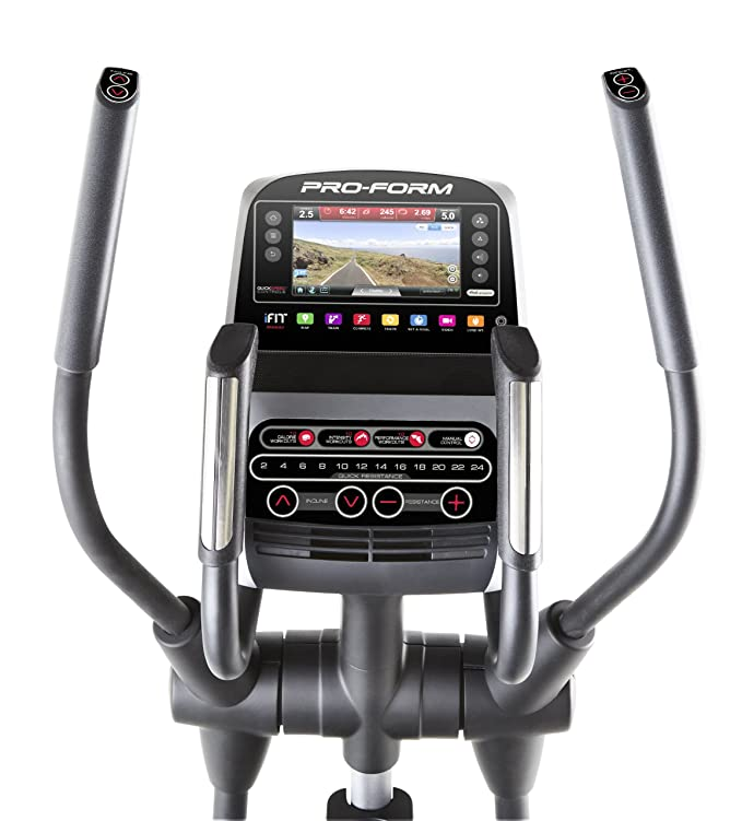 ProForm Smart Strider 935 entrenador elíptico - PFEL19914, Gris/Rojo: Amazon.es: Deportes y aire libre
