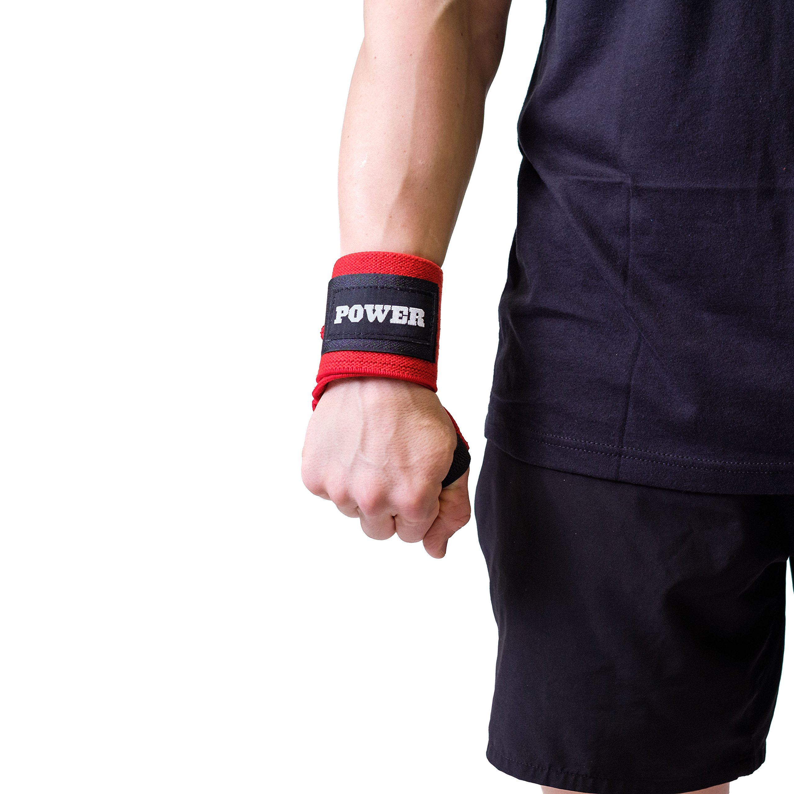 Sling Shot Power Wraps - Red