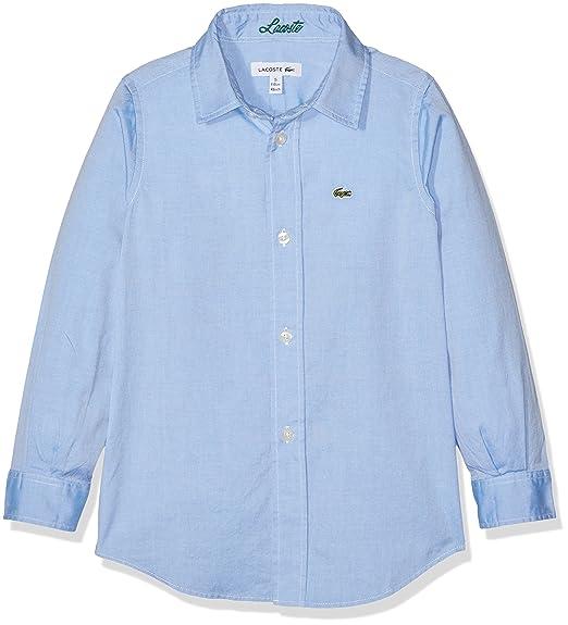 526182ca Lacoste Boy's Cj2907 Shirt: Lacoste: Amazon.co.uk: Clothing