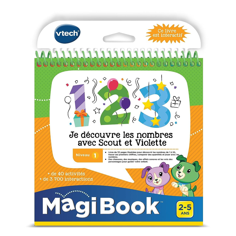Magibook - Je découvre les nombres avec Scout et Violette Vtech 480705