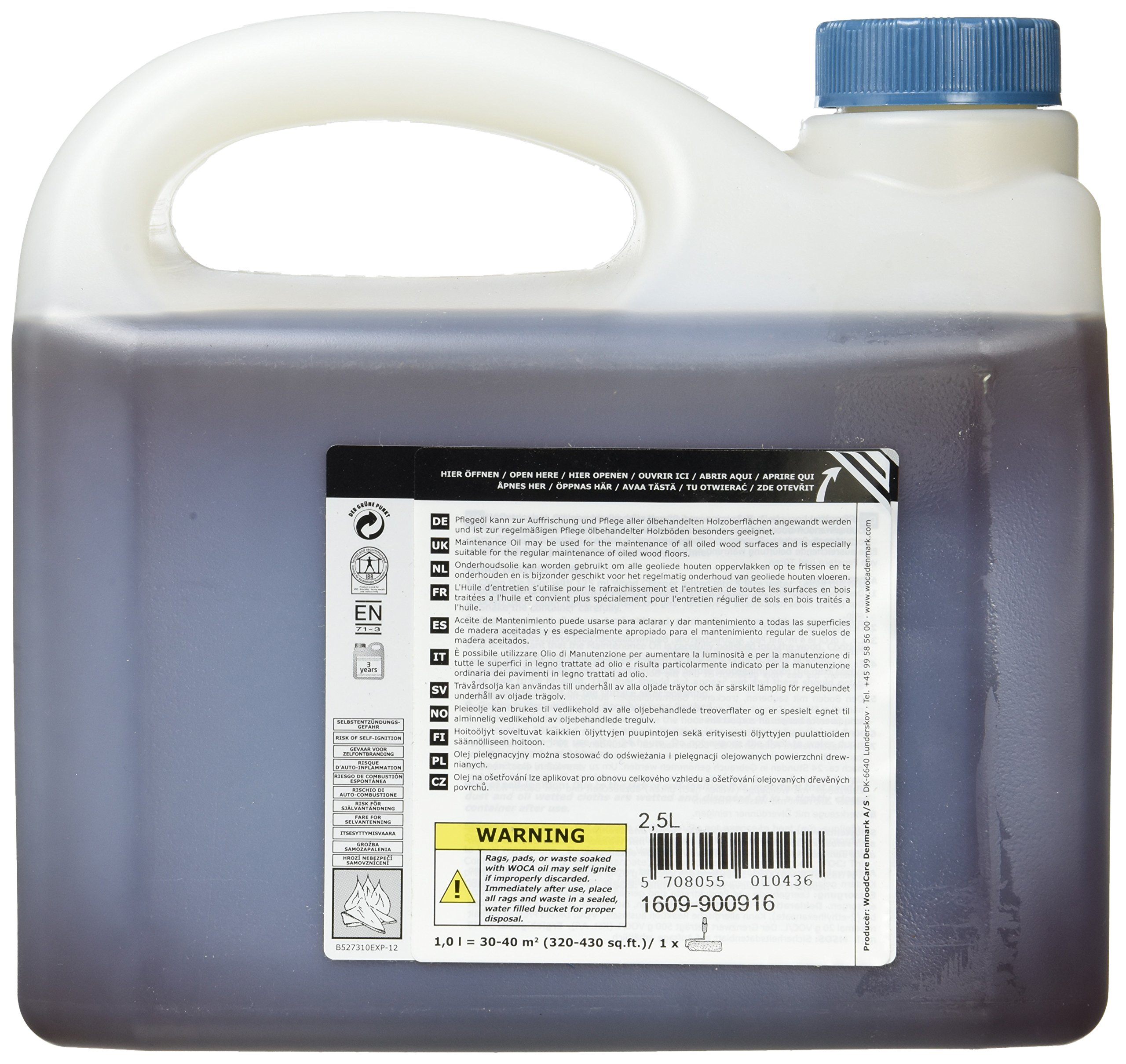 Woca Maintenance Oil - Natural (2.5 liter) by Woca (Image #2)