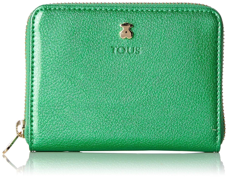 Tous Dorp - Monedero para Mujer, Verde, 11.5 x 8 x 1 cm ...