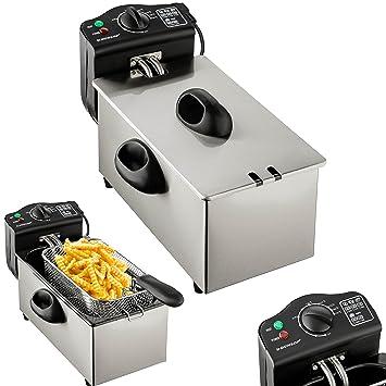Dunlop freidora | Premium frittiergerät para el uso profesional | Tecnología de zona fría | cesta