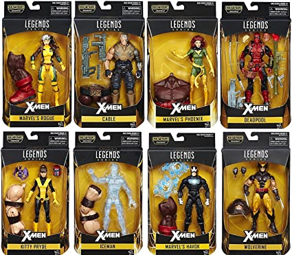 Marvel Legends X-Men 6 Inch Deadpool Action Figure Juggernaut Series