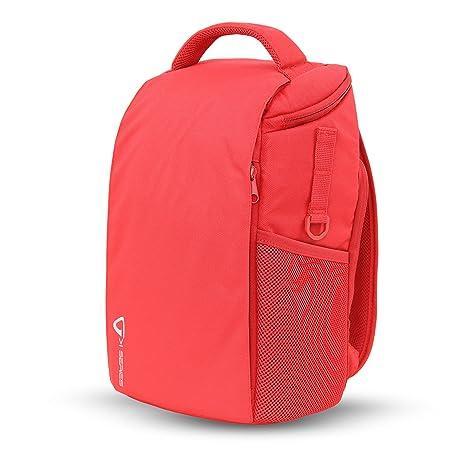 Vanguard VK 35RD - Mochila para cámara (22x14x35 cm) Color Rojo ...