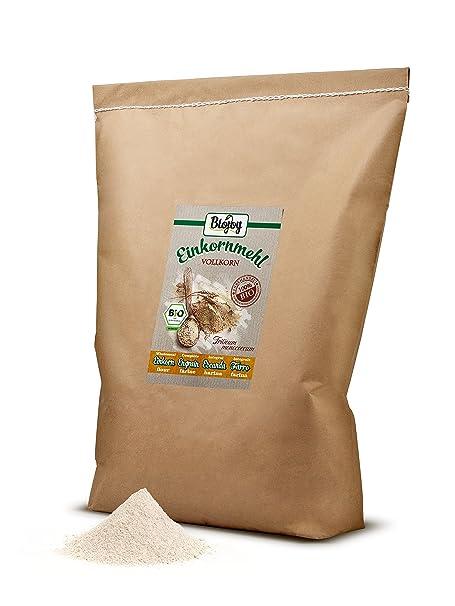 Harina de escanda integral (Triticum monococcum) (10 kg): Amazon.es: Alimentación y bebidas