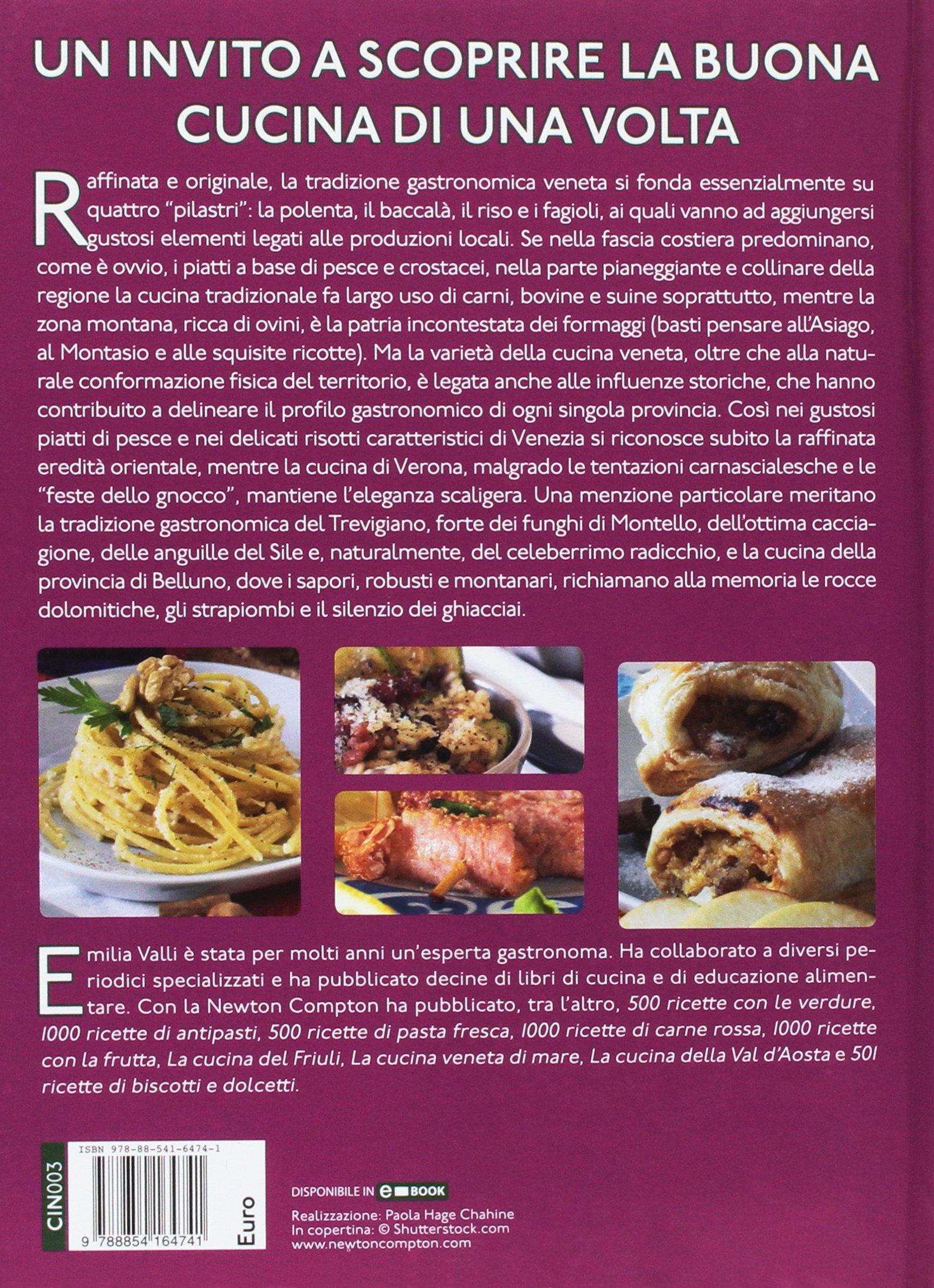 La cucina del Veneto in oltre 600 ricette: 9788854164741: Amazon ...