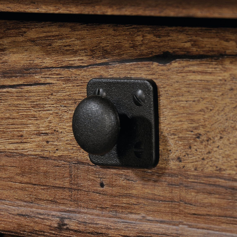 Sauder Palladia L-Shaped Desk Select Cherry finish