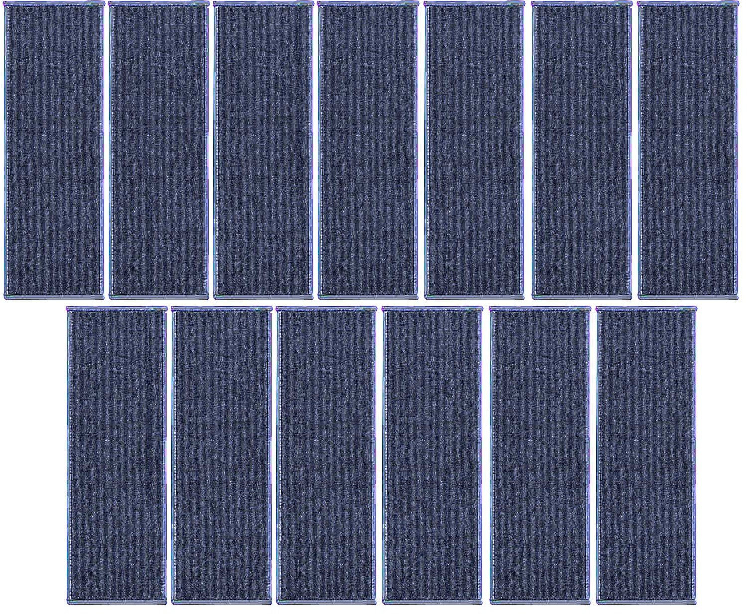 Ambiant Indoor Outdoor StairThreads Violet 9'' x 30'' (set of 13) - Area Rug