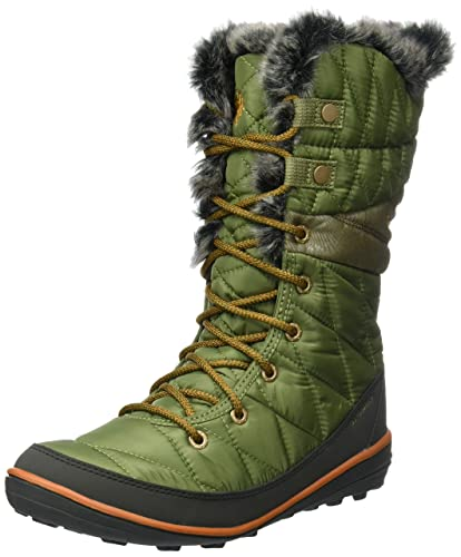 Columbia Womens Heavenly OmniHeat Lace up Boot ZUCBright Copper 5