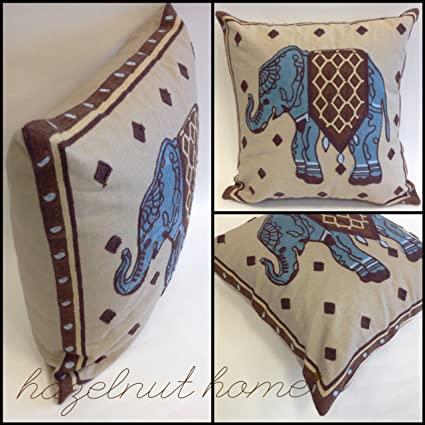 Amazon Com Little Elephant Texture Yarn Embroidery Decorative 18 X