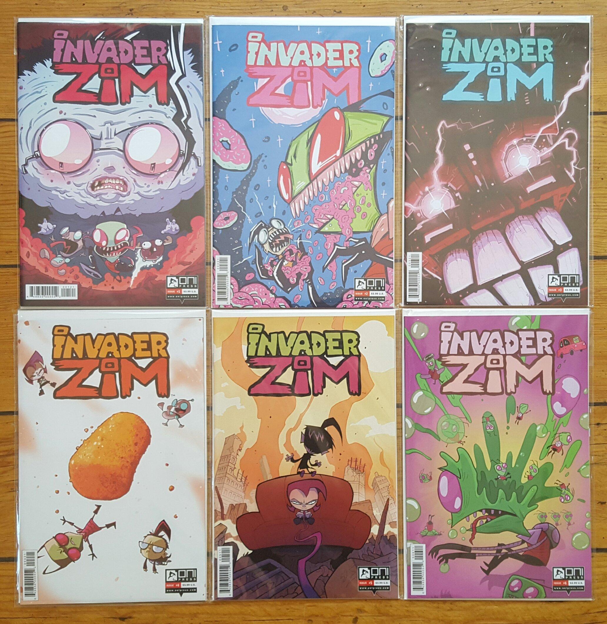 INVADER ZIM #11 ONI PRESS COVER A 1ST PRINT Jhonen Vasquez