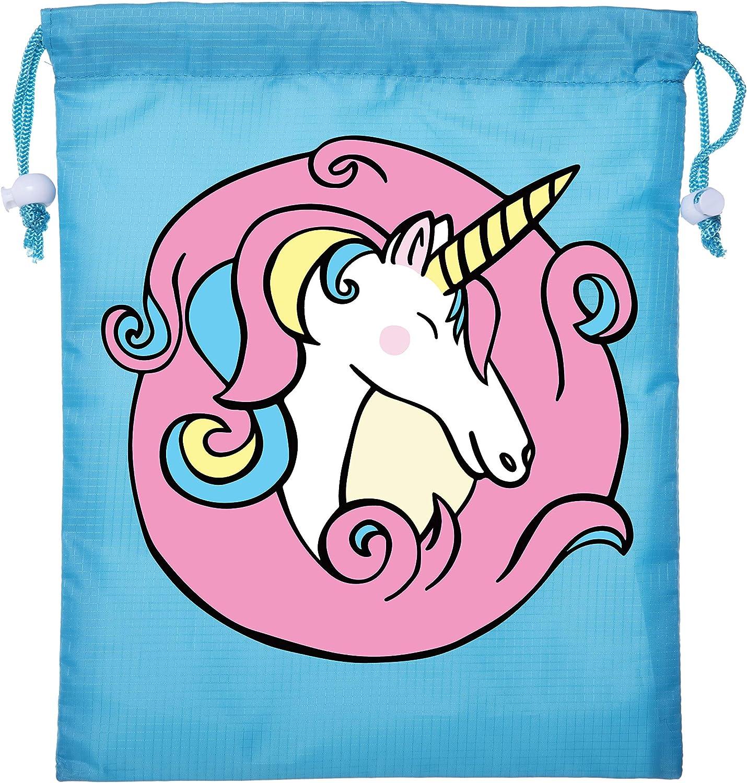 Unicorn Drawstring Bag Mini Unicorn Gift Bags for Birthdays Make up /& Decorations