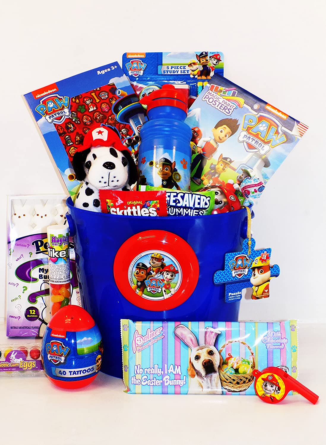 Amazon paw patrol candy and toy easter basket with plush dog amazon paw patrol candy and toy easter basket with plush dog grocery gourmet food negle Image collections