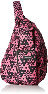 4ab5a17712 Ambry Rope Sling Bag - Canvas One Shoulder Sling for Women - Compact  Backpack