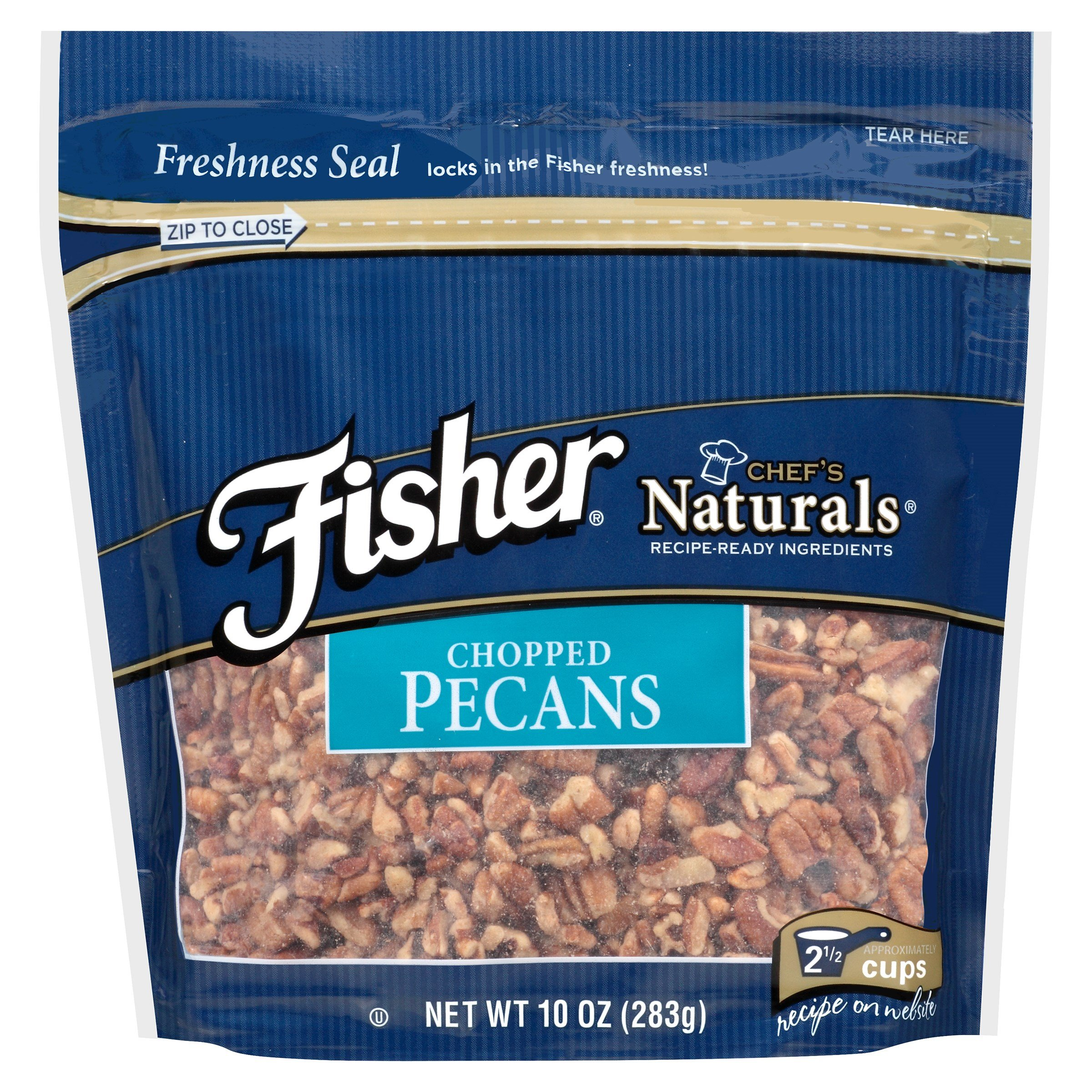 Fisher Chopped Pecans 10 Oz