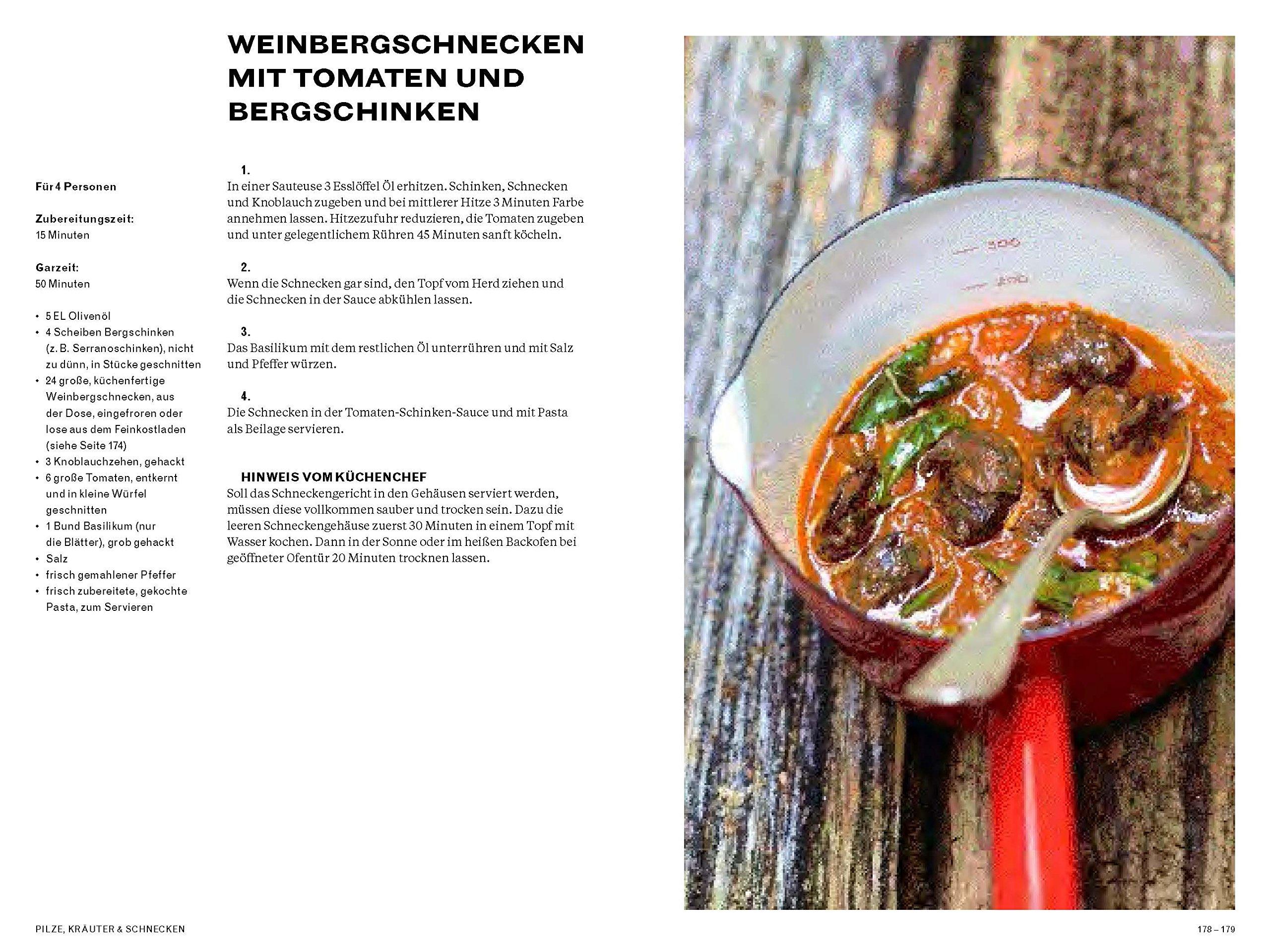 Larousse - Rezepte aus dem Wald: Das Kochbuch für Jäger und Sammler ...