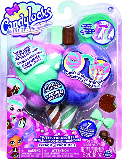 Version 2 Candylocks Sweet Treats BFF Jilly Jelly /& Donna Nut 2-Pack