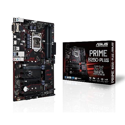 Asus Prime B250 PLUS Placa Base 1 x PCIe 3 0 6 x SATA 3 HDMI DVI 4 x USB 3 0 LGA 1151 Intel HD Graphics DDR4